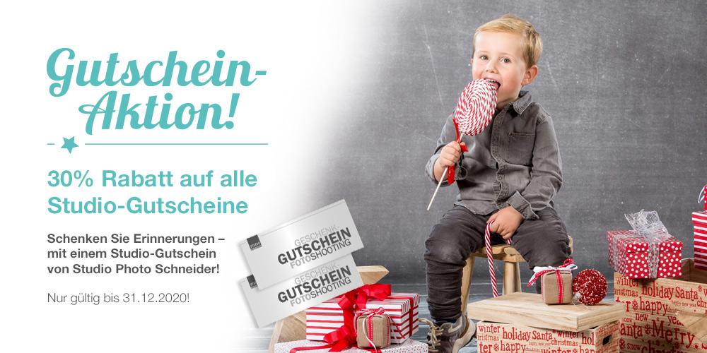 PH0TO SCHNEIDER Kirchheim unter Teck –Weihnachtsaktion Website Studio Aktionen